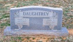 Nancy E <i>Thomas</i> Daughtrey