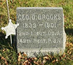 Lieut George D. Brooks