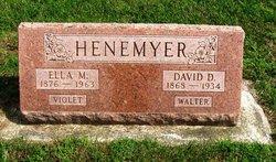 Mary Luellen Ella <i>Thomas</i> Henemeyer