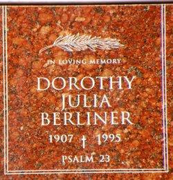 Dorothy Julia Berliner