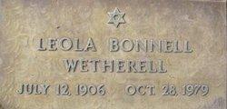 Leola May <i>Warner</i> Wetherell