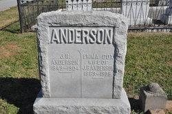 Emma <i>Cox</i> Anderson