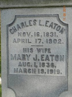 Mary Jane <i>Williams</i> Eaton