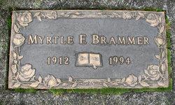 Myrtle Florence <i>Olson</i> Brammer