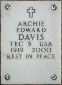 Archie Edward Davis