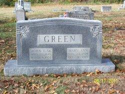 John Trimbel Johnny Green, Sr