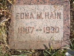 Edna M Hain