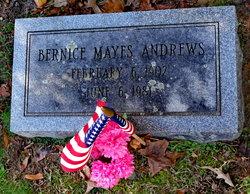Bernice Virginia <i>Mayes</i> Andrews