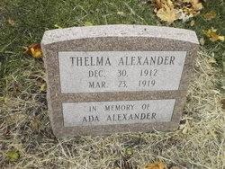 Thelma Alexander