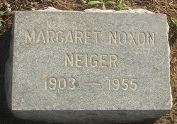 Margaret <i>Noxon</i> Neiger
