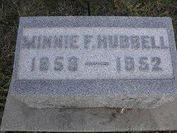 Minnie F. Hubbell