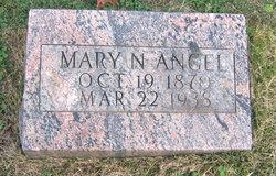 Mary Nevada <i>Elam</i> Angel