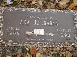 Ada Jo <i>Row</i> Nanna