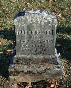 Anna Rebecca <i>Holton</i> Janes