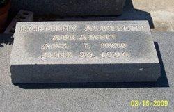 Dorothy <i>Albrecht</i> Abrameit