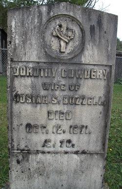 Dorothy <i>Cowdery</i> Buzzell