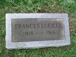 Frances Lucille Bowdler