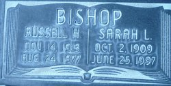 Sarah Louise <i>Russell</i> Bishop