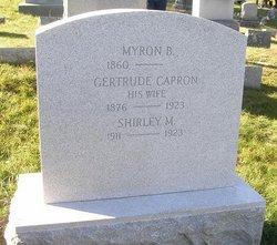 Gertrude <i>Capron</i> Ackley