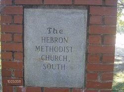Hebron Methodist Church South Cemetery
