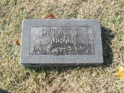 Dwight T Abram