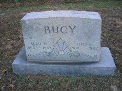 Allie <i>Hays</i> Bucy