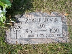Myrtle <i>Jacot</i> Secaur-Toy