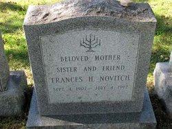 Frances H. <i>Kunen</i> Novitch