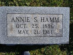 Annie S. <i>Sterner</i> Hamm