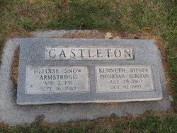 Heloise Armstrong <i>Snow</i> Castleton