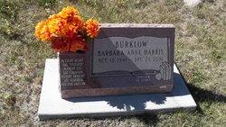Barbara Anne <i>Harris</i> Burklow