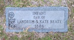 Infant Daughter Beaty