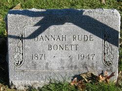 Hannah <i>Rude</i> Bonett