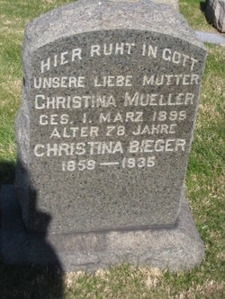 Christina <i>Mueller</i> Bieger
