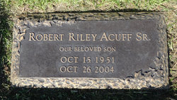ROBERT RILEY BOBBY ACUFF