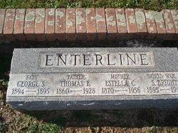 Estella Christina Stella <i>Strohecker</i> Enterline