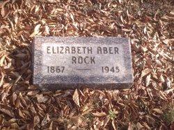 Elizabeth <i>Weaver</i> Aber Rock