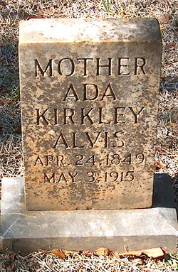 Ada <i>Kirkley</i> Alvis