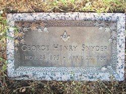 George Henry Snyder