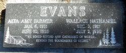 Alta Amy <i>Farmer</i> Evans