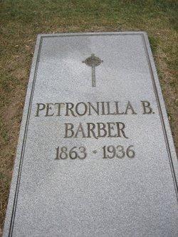 Petronilla Petra <i>Bellinger</i> Barber