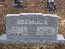 Lesbia <i>Harber</i> Langston