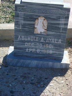 Abundia A. Ayala