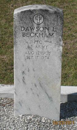 PFC Dawson L. Beckham