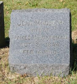 Jean <i>MacBeth</i> Ackerman