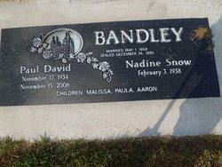 Nadine <i>Snow</i> Bandley