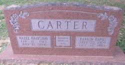 Hazel Hortense <i>Hairston</i> Carter
