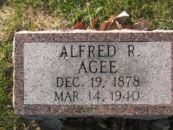 Alfred R Agee