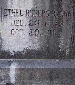 Ethel <i>Rogers</i> Brown