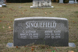 ANNIE KATE <i>YOUNT</i> SINQUEFIELD